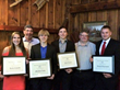 Chicago Awards Banquet Students with Founders, Bruce Bellak and Andrew Lauter