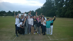 The Duncan Lewis Cricket Team at Stoke Green Cricket Club