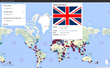 Interactive map of British schools abroad