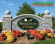 SweetBriar Village Monument Sign- BizCard Xpress