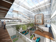 Inman Headquarters building interior 3D rendering - Pylot Studios