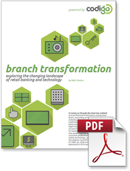 Codigo releases new report on emerging branch transformation trends throughout the financial industry