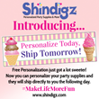 Shindigz Unveils Industry Leading Announcement