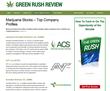 Marijuana Industry Website GreenRushReview.com Introduces Company...