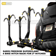 Saris Racks Launches Freedom & Freedom SuperClamp Hitch Bike Racks...