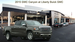2015 GMC Canyon Truck @ Liberty Buick GMC This Fall!