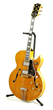 "1960 Gibson hollow bodied electric guitar, c. 1960, with original ""Gibson Byrdland, Number A34663"