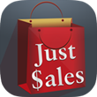 """New Mobile Shopping App, """"Just Sales,"""" Provides Consumers with Current..."""