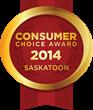 2014 Saskatoon Consumer Choice Award Winners