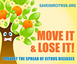 USDA Raises Awareness to Citrus Health: Move It AND Lose It