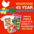 Iconic Shop Celebrates Woodstock 45th Anniversary