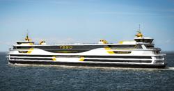 700 Passenger Hybrid CNG Ferry