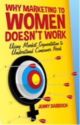 "Image of the book cover for ""Why Marketing to Women Doesn't Work."""