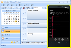 Sync Outlook Calendar with Windows Phone 8.1