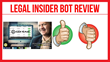 Legal Insider Bot: Review Examining Greg Marks's New Binary Software...