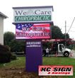 We Care Chiropractic Gaining More Attention With New LED Sign From KC...