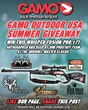 GAMO® OUTDOOR USA Offers a Chance to Win Air Rifles, Optics,...