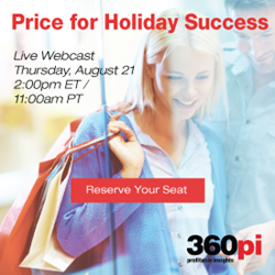 Live Webcast: Price for Holiday Success