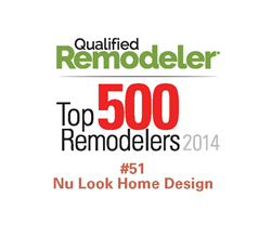 Nu Look Home Design Ranked 51 out of 500 in the Qualified Remodelers Top 500 List.