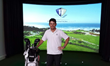 PGA Pro, Louis Oosthuizen, Trains With High Definition Golf™ Simulator