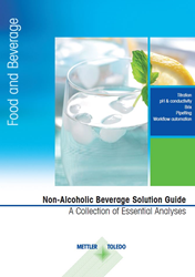 A new, free METTLER TOLEDO guide showcases selected analyses applied to non-alcoholic beverages to help ensure consistent quality.
