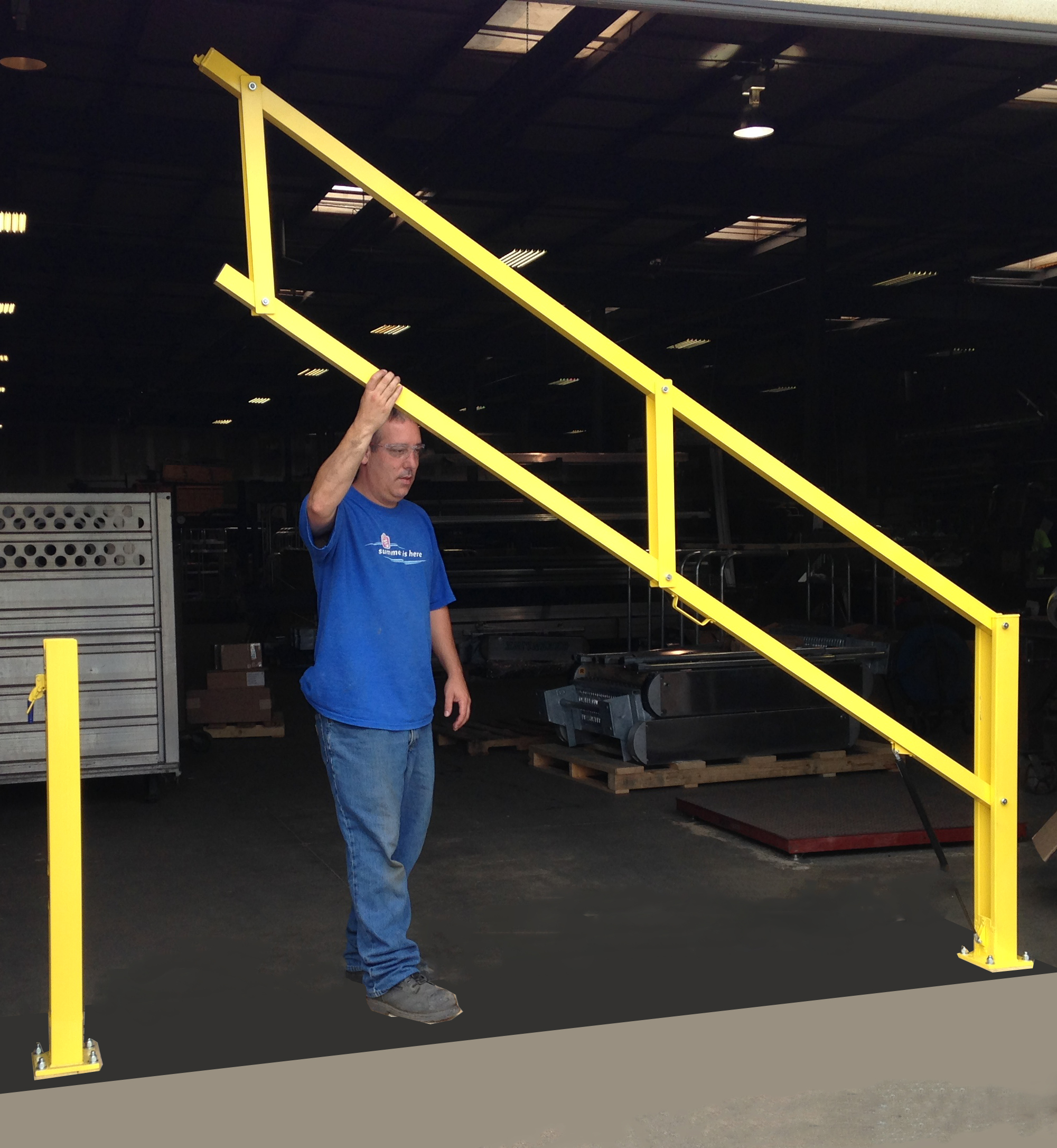 Benko Products Introduces The Loading Dock Safety Gate