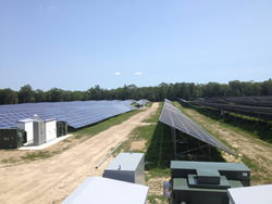 One of Beaumont Solar Company's Ground Array Projects