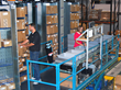Balluff's highly efficient and compact carousel-style logistics system can process up to 110 line items per hour.