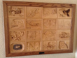 Oakhurst Woodcarvers' Rendezvous Raffles Wooden Quilt to Support...