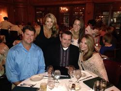 Left to right: Chris Maples, Kristen Maples, Jamie Furrate, Lindsay Johnston and Bernadette Furrate