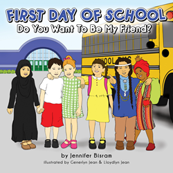 First Day of School: Do You Want to be My Friend?
