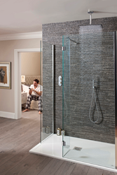Crosswater, crosswater holdings, bathroom, crosswater bathrooms, digital showers, remote control, digital control, wireless bathroom control, wireless control, iPhone shower app,