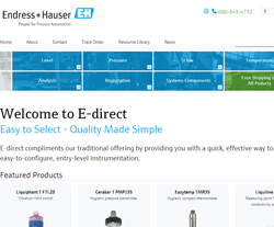 New E-direct Homepage