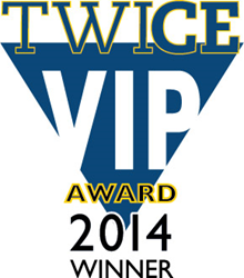 TWICE 2014 VIP Award