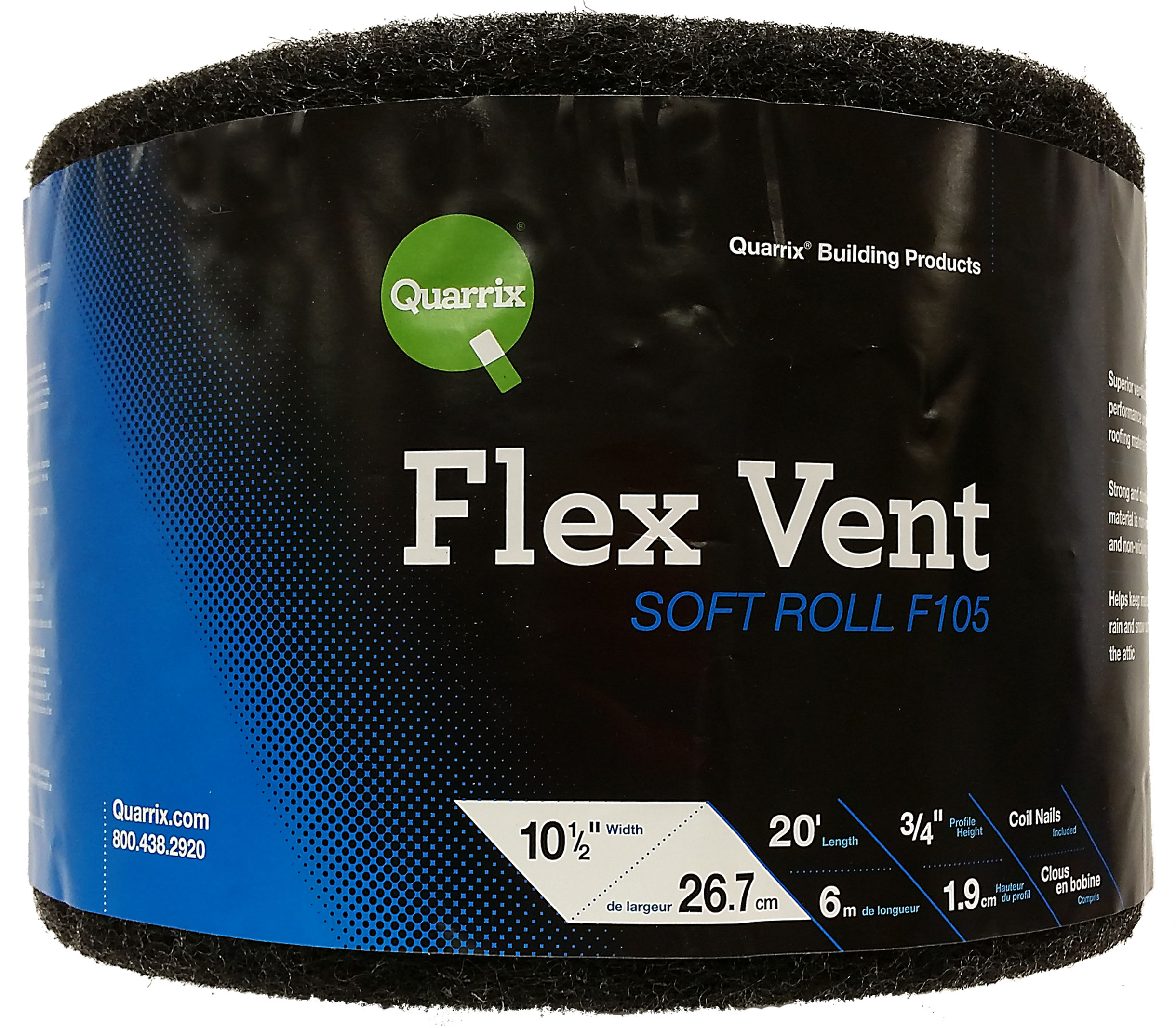 New Flex Vent Soft Roll From Quarrix Building Products