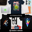 Alternative and Hipster Tees at Design By Humans