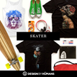 Skater Tees at Design By Humans