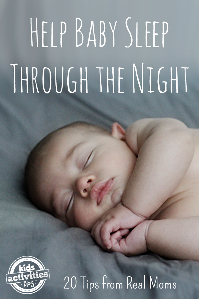 Babies Sleeping Through The Night Tips – Sharon Karam