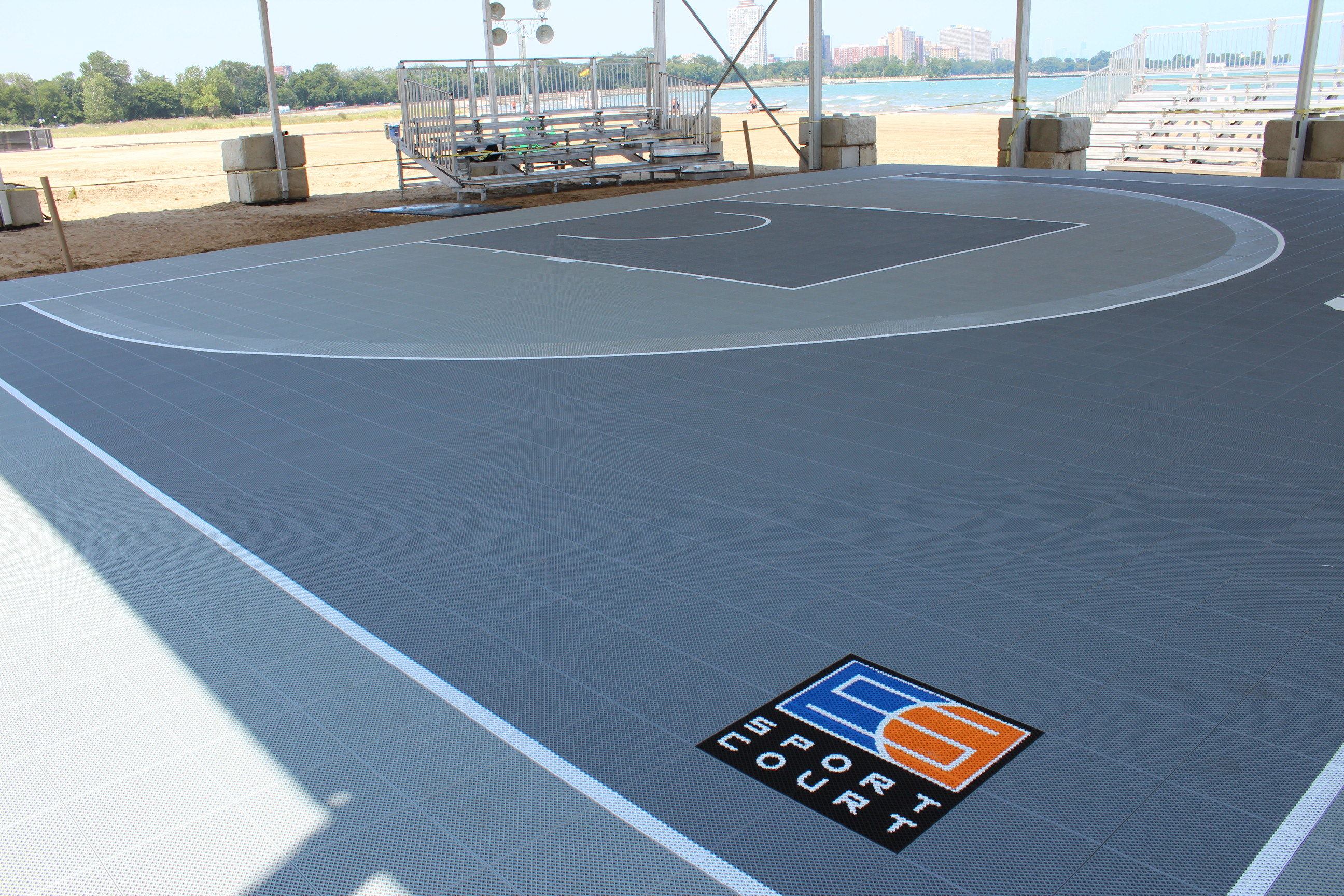 Connor sport court international to provide all playing for Sport court floor