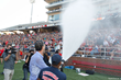 Liberty University President Jerry Falwell and wife Becki take on ice bucket challenge, call out freshman class with fire hose