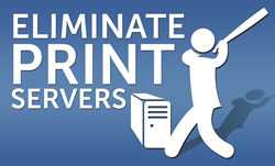 Eliminate Print Servers with PrinterLogic
