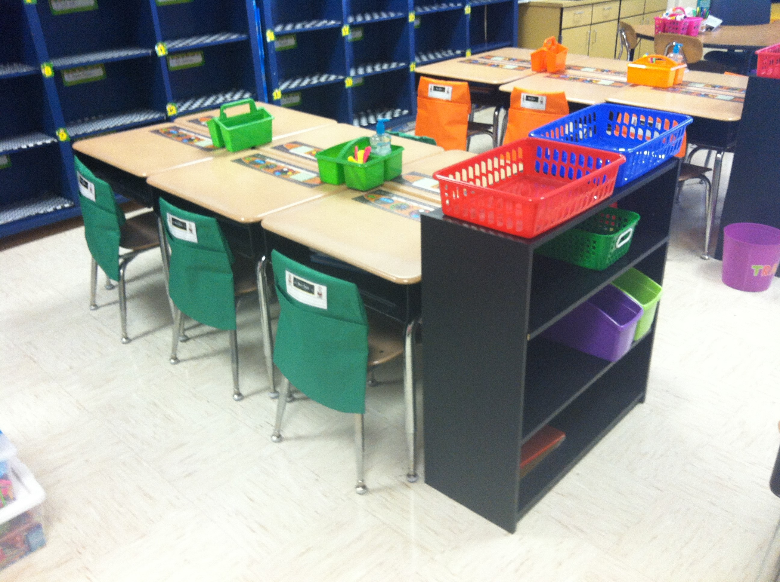 Miss Delk s Back to School Tips with Seat Sack Colorful Classroom