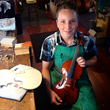 14-year-old Nathan Benning, 4th Generation Violinmaker at Benning...