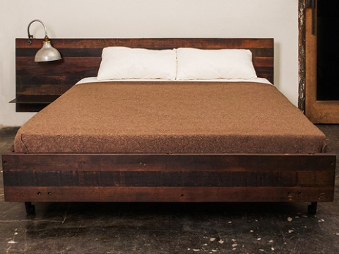 Reclaimed Wood Queen Bed WB Designs - Reclaimed Wood Queen Bed WB Designs