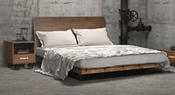 Oaktown Eastern King Bed 98193 From Zuo Modern
