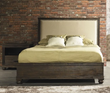The City King Size Bed in Dark Brown 98206 From Zuo Modern