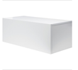 Nuevo Living Elise Hanging Console in Matte White Lacquer HGSD523