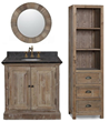 Recycled Fir 36 Bathroom Vanity 1836 From InFurniture