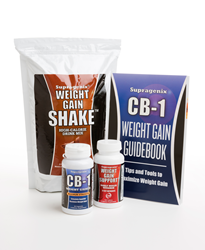 CB-1 Weight Gain Program: Weight gain pill, weight gain shake, weight gain multivitamin, guidebook