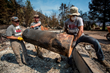 Team Rubicon volunteers, mainly military veterans, helped Pateros, Wash., cleanup following the worst wildfire in the state's history. Team Rubicon photo by Kirk Jackson.